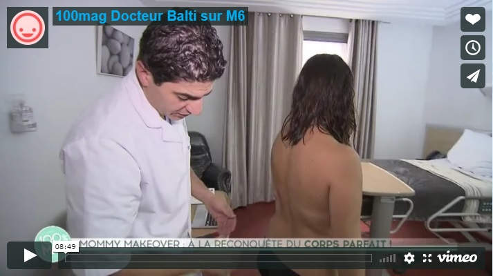 DR Walid Balti Chirurgie Esthétique Tunisie Sur M6 100% Mag Mommy Makeover
